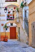 Alleyway. Monopoli. Puglia. Italy. — 图库照片