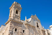 Church of St. Salvatore. Monopoli. Puglia. Italy. — Foto de Stock