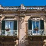 Historical palace. Monopoli. Puglia. Italy. — Stock Photo