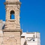 Church of St. Salvatore. Monopoli. Puglia. Italy. — Stock Photo