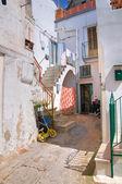 小巷。montescaglioso。巴西利卡塔。意大利. — 图库照片
