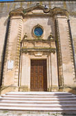Mother Church of Montescaglioso. Basilicata. Italy. — Stock Photo