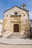 Church of Madonna delle Grazie. Montescaglioso. Basilicata. — Stock Photo