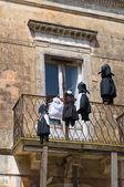 Historical palace. Montescaglioso. Basilicata. Italy. — Stock Photo