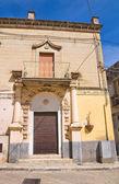 Alleyway. Montescaglioso. Basilicata. Italy. — Stock Photo