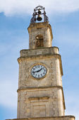 Clocktower. Ginosa. Puglia. Italy. — Stock Photo