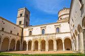 Abbey of St. Michele Arcangelo. Montescaglioso. Basilicata. — Stock Photo