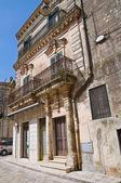 Historical palace. Montescaglioso. Basilicata. Italy. — Foto Stock