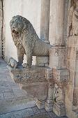 アルタムーラのドゥオモ大聖堂。プーリア州。イタリア. — ストック写真