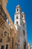 Duomo Cathedral of Altamura. Puglia. Italy. — Stock Photo