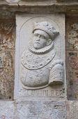 Coat of arms. Giovinazzo. Puglia. Italy. — Stock Photo