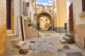 Alleyway. Altamura. Puglia. Italy. — Stock Photo