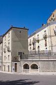 Alleyway. Acerenza. Basilicata. Italy. — Stock Photo