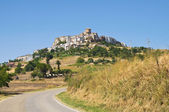 Panoramic view of Acerenza. Basilicata. Italy. — Stock fotografie