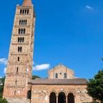 Pomposa Abbey. Codigoro. Emilia-Romagna. Italy. — Stock Photo #8811894