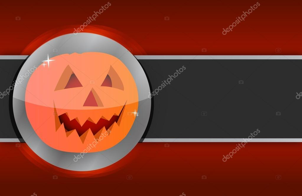 Happy halloween pumpkin card illustration design background — Stock Photo #13560766