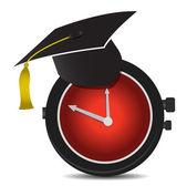 Temps pour la conception d'illustration de l'éducation — Photo