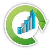 Zyklus und grafik illustration — Stockfoto