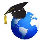 Bildung weltweit de — Stockfoto