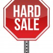 Hard sale sign — Stock Photo #14501479