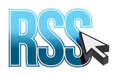 Rss cursor — Stock Photo