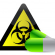Royalty-Free Stock Photo: Biohazard pills