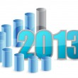 2013 business graph — Stock Photo #15079041