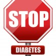 Stock Photo: Stop diabetes