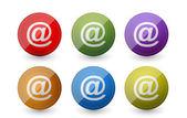 Att mail symbols — Stock Photo