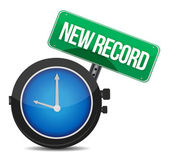 New record watch — Stock Photo