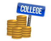 Kolegium oszczędności — Zdjęcie stockowe