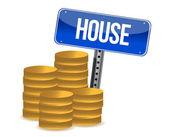 House saving — Stock Photo