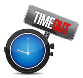 Timeout concept — Stock Photo