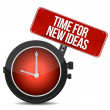 Time for new ideas concept — Stock Photo #16402273