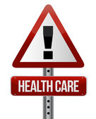 Healthcare sign — Stock Photo