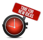 Time for new ideas concept — Stock Photo
