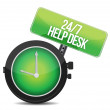 Help desk 24 - 7 — Stock Photo #16596025