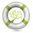 Stock Photo: Sos lifesaver eco environment i