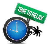 Time to relax concept — Stock Photo
