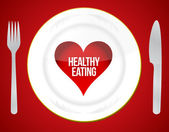 Healthy eating concept — Stock Photo
