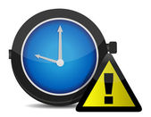 Clock Reminder Icon — Stock Photo