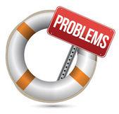 Problems Help Concept. — Stock Photo