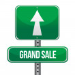 Stock Photo: Grand Sale just ahead sign