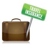 Travel Insurance concept — Stock Photo