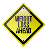 Weight loss concept — Stock Photo