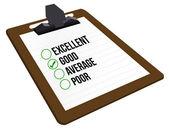 Good customer rating — Stock fotografie