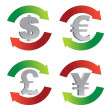 currency symbol — Stock Photo