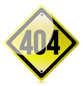 Koncepcja 404 błąd. nie znaleziono strony. — Zdjęcie stockowe