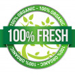 Stock Photo: Label of Fresh concept