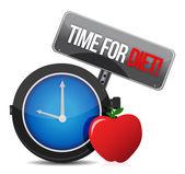ダイエットのための時間 — ストック写真